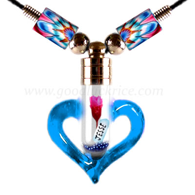 RB-4BLUE (Blue Heart Bottle)