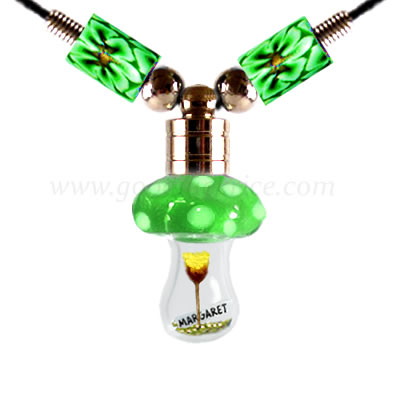 RB-19GREEN (Green Mushroom Bottle)
