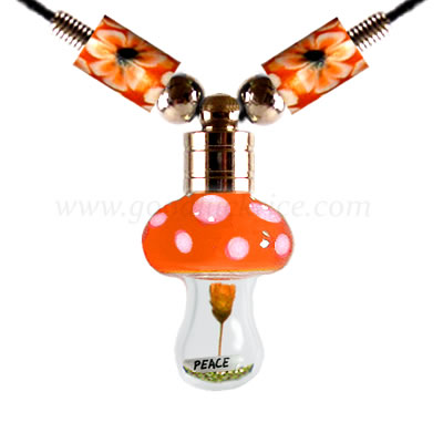 RB-19ORANGE (Orange Mushroom Bottle)
